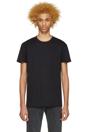 Naked & Famous Denim - Black Seamless T-Shirt