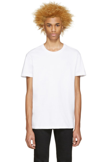 Naked & Famous Denim - White Seamless T-Shirt