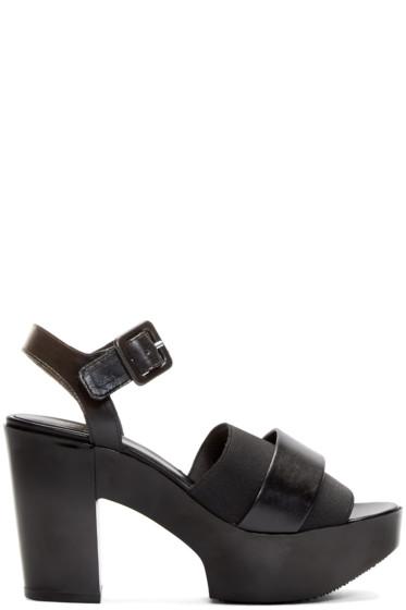 Robert Clergerie - Black Heeled Culturk Sandals
