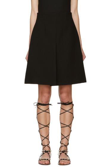 Giambattista Valli - Black Crepe Miniskirt