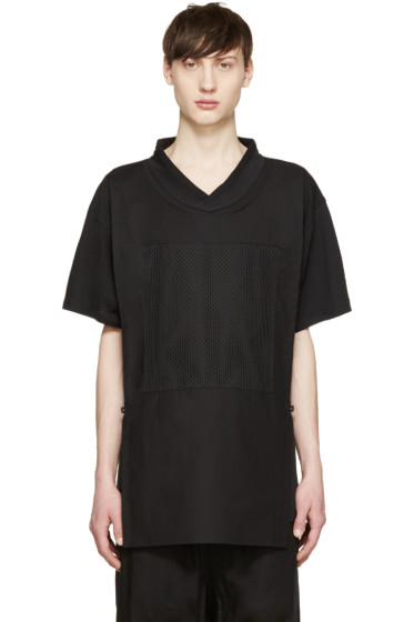 D.Gnak by Kang.D - Black Panel T-Shirt