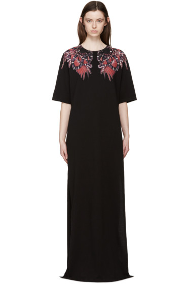 Marcelo Burlon County of Milan - Black Long Heredia Dress