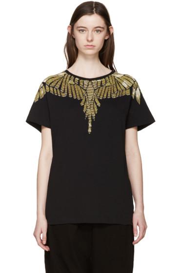 Marcelo Burlon County of Milan - Black Beaded David T-Shirt