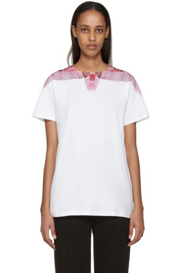 Marcelo Burlon County of Milan - SSENSE Exclusive White Santa Rosa T-Shirt