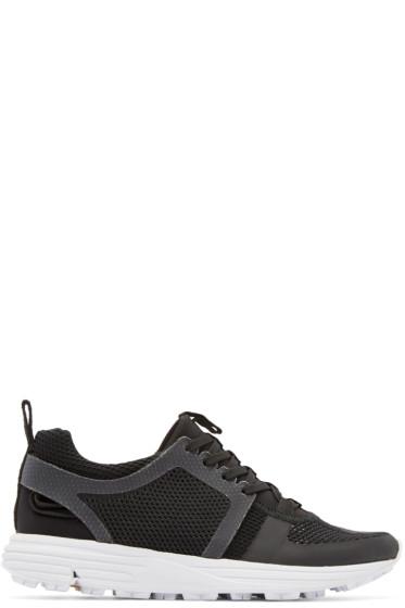Marcelo Burlon County of Milan - Black Mesh Conchali Sneakers