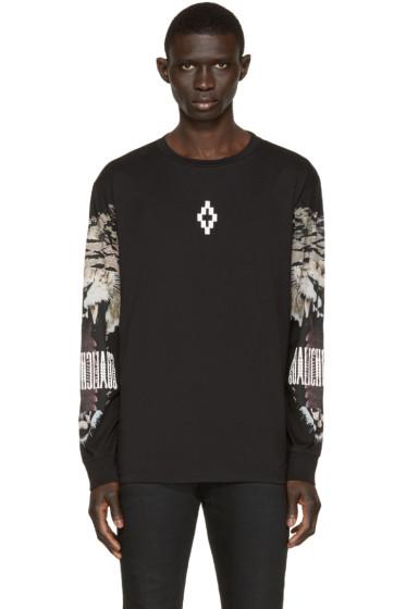 Marcelo Burlon County of Milan - Black Long Sleeve Guisa T-Shirt