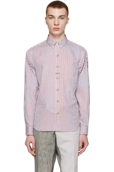 Moncler Gamme Bleu - Tricolor Check Shirt