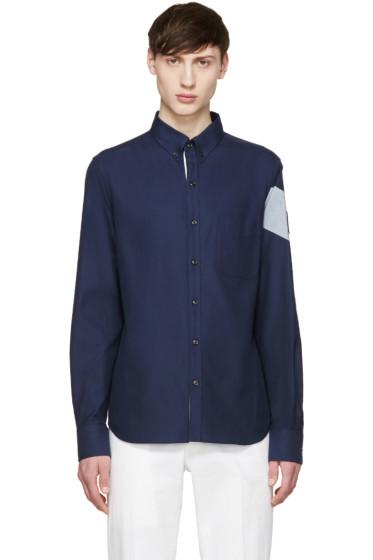 Moncler Gamme Bleu - Navy Oxford Shirt