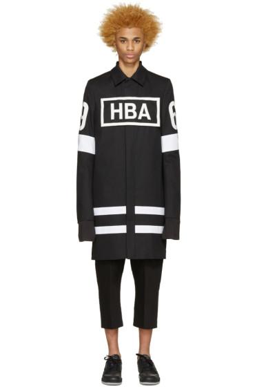 Hood by Air - Black Box Logo Duster Coat