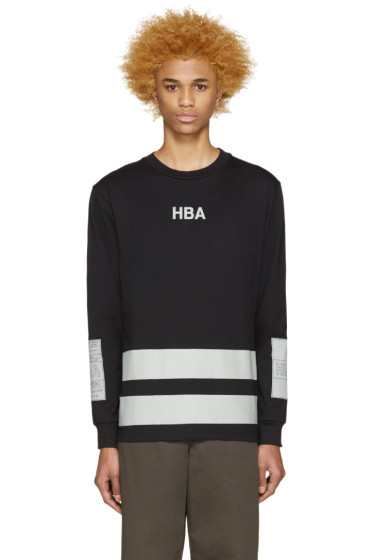 Hood by Air - Black & Grey Jock Boxes T-Shirt