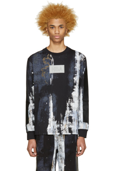Hood by Air - Black Acid Rinse T-Shirt