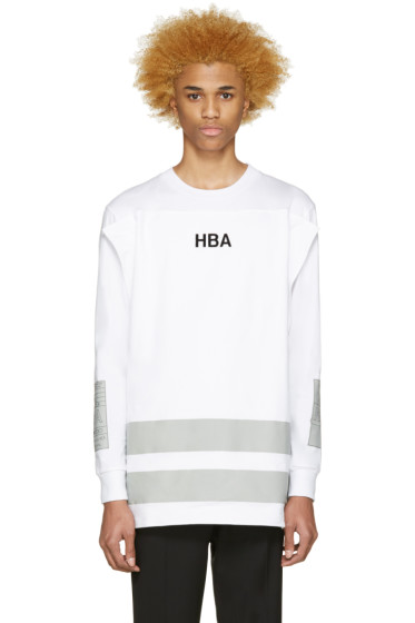 Hood by Air - White Jock Squared T-Shirt