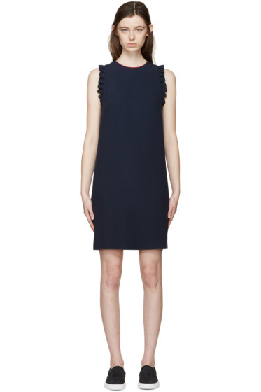 Mother of Pearl - Navy Livvie Kadi Dress