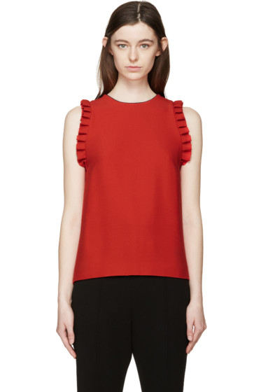 Mother of Pearl - Red Nettie Kadi Tank Top