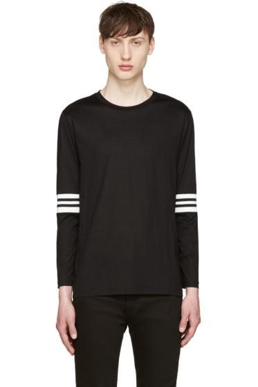 Giuliano Fujiwara - Black Insert T-Shirt