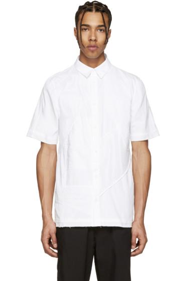 Alexandre Plokhov - White Patchwork Shirt