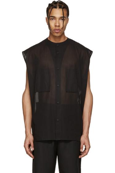 Alexandre Plokhov - Black Sleeveless Shirt