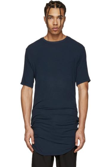 Alexandre Plokhov - Navy Jersey Drawstring T-Shirt