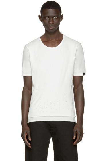 Miharayasuhiro - White Damaged T-Shirt
