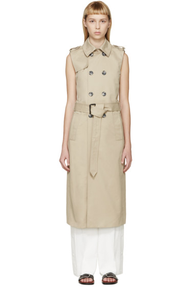 Each x Other - Khaki Robert Montgomery Edition Trench Coat