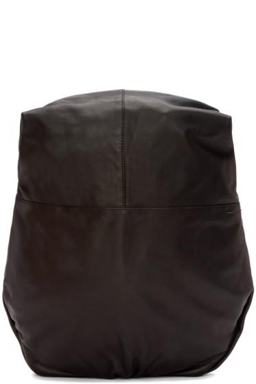 Côte & Ciel - Black Leather Nile Alias Backpack