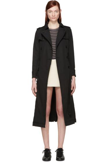 Isabel Marant Etoile - Black Maden Trench Coat