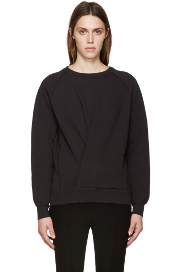 Isabel Marant Etoile - Black Twisted Belden Sweatshirt