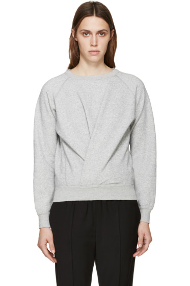 Isabel Marant Etoile - Grey Twisted Belden Sweatshirt