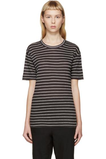 Isabel Marant Etoile - Black Ken Striped T-Shirt