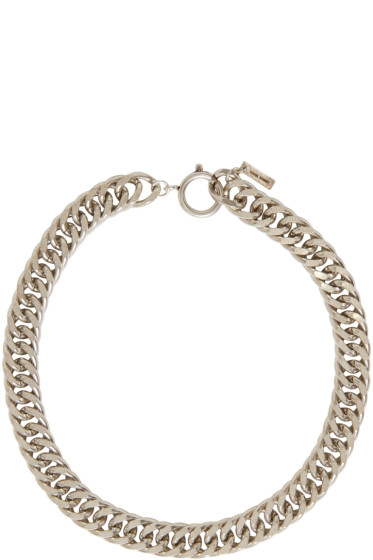 Isabel Marant - Silver Chain Matazz Necklace