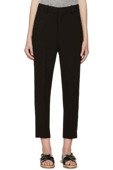 Isabel Marant - Black Crepe Milane Trousers