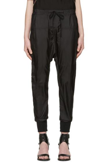Isabel Marant - Black Silk Keegan Trousers