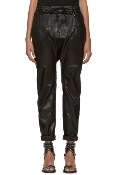 Isabel Marant - Black Silk Niall Trousers