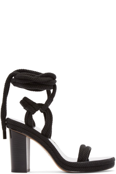 Isabel Marant - Black Rope Macylli Sandals