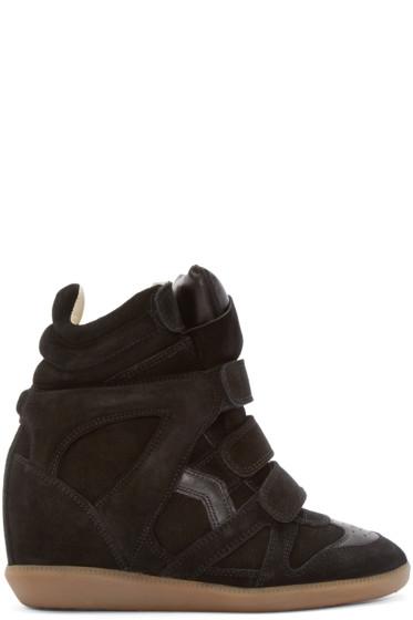 Isabel Marant - Black Bekett Wedge Sneakers