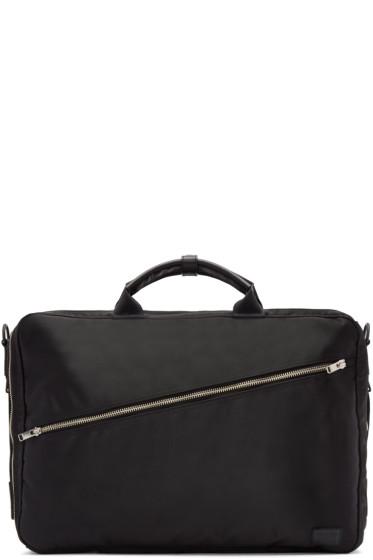 Porter - Black Nylon Lift 3Way Briefcase