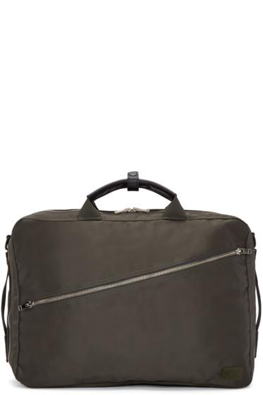 Porter - Khaki Nylon Lift 3Way Briefcase