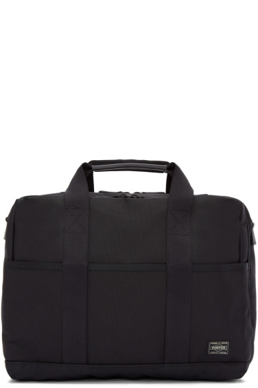 Porter - Black Nylon Stage 2Way Briefcase
