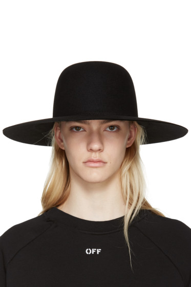 Off-White - Black Wide-Brim Hat