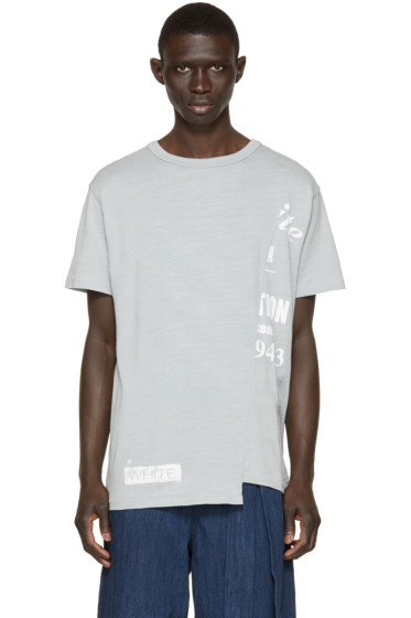 Off-White - Grey Half-Truck T-Shirt