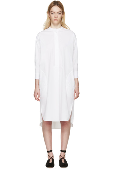 Studio Nicholson - White Tito Shirt Dress