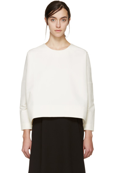Studio Nicholson - Cream Navoli Double Shell Blouse