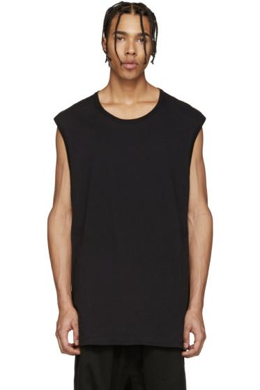 11 by Boris Bidjan Saberi - Black & Blue Muscle T-Shirt
