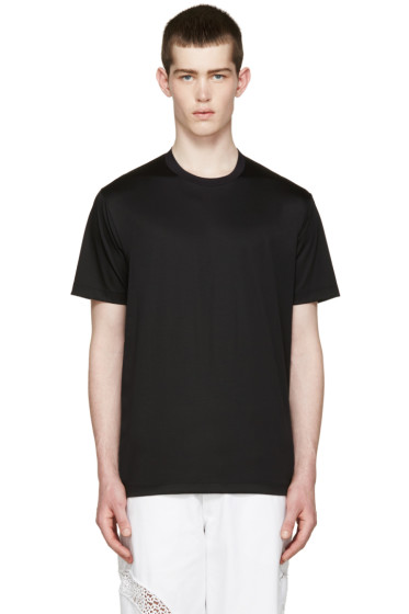Johnlawrencesullivan - Black Overlong T-Shirt