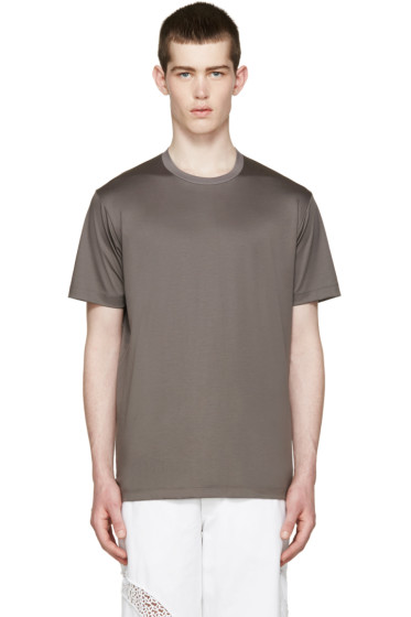 Johnlawrencesullivan - Grey Overlong T-Shirt