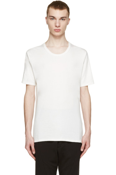 Nude:mm - White Cotton T-Shirt