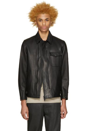Blackmeans - Black Leather Jacket