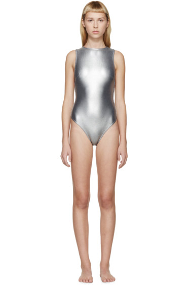Prism - Grey Samar One-Piece Swimsuit
