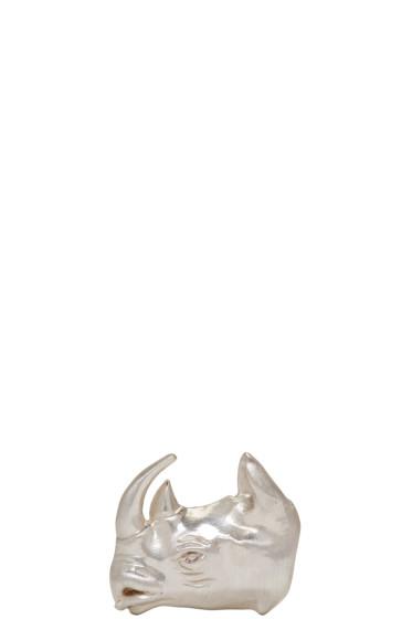 OAMC - Silver Rhino Pin