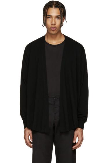 Lemaire - Black Cashmere Cardigan